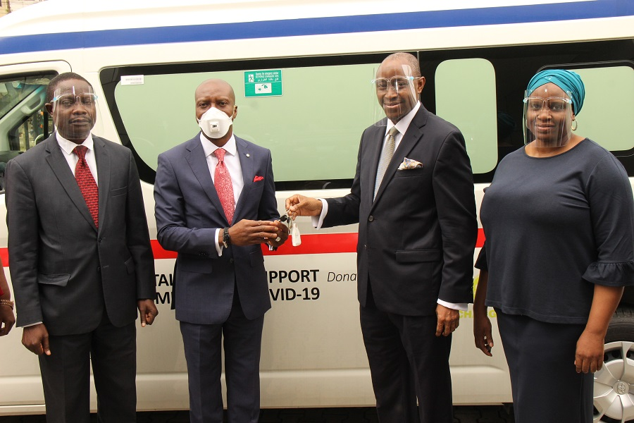 NSE Donates to Capital Market Support Committee for Covid-19 (CMSCC)